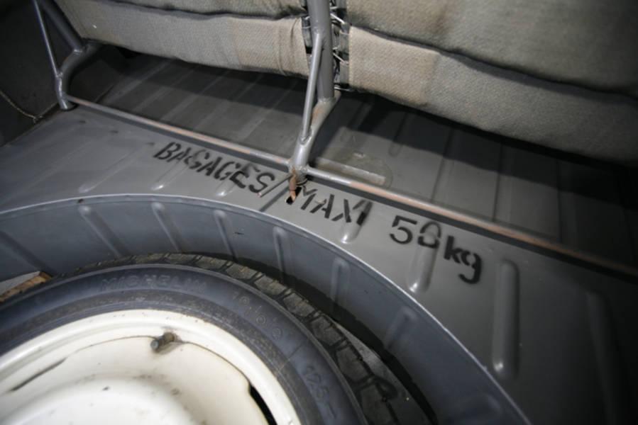 2cv de 1954  7285 km